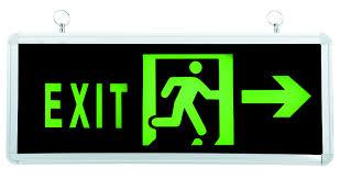 Hiểu thế nào cho đúng về đèn exit