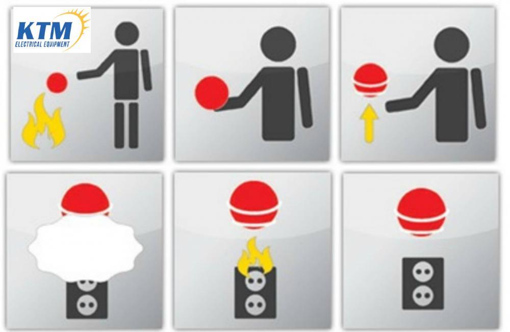 Video - Kiểm tra chất lượng  Bóng cứu hỏa